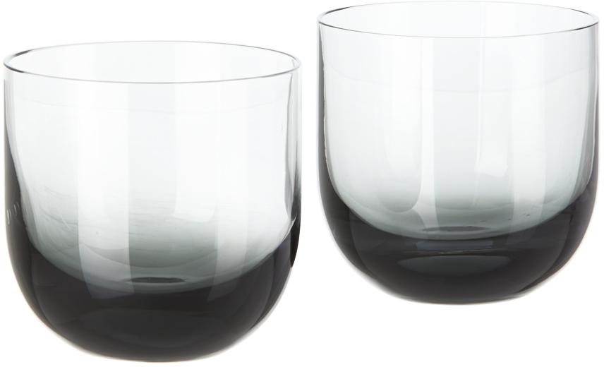 Tom Dixon ブラック Tank Whiskey グラス セット 200 ml