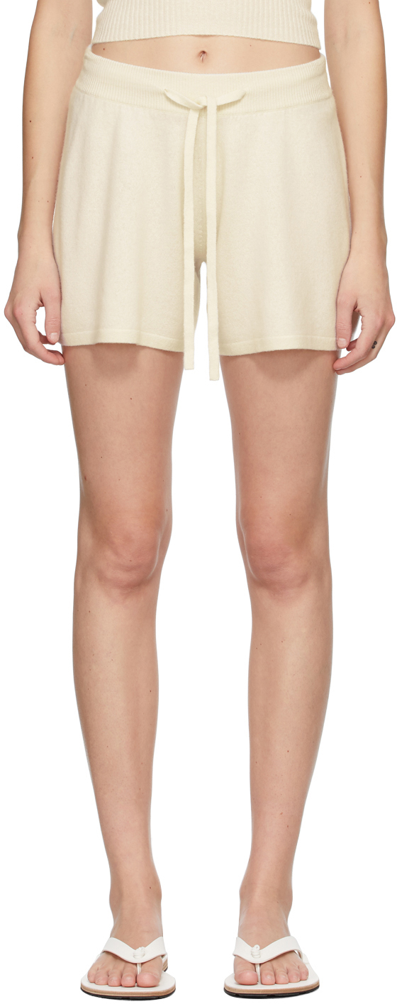 Off-White Cashmere 'The Gio' Shorts
