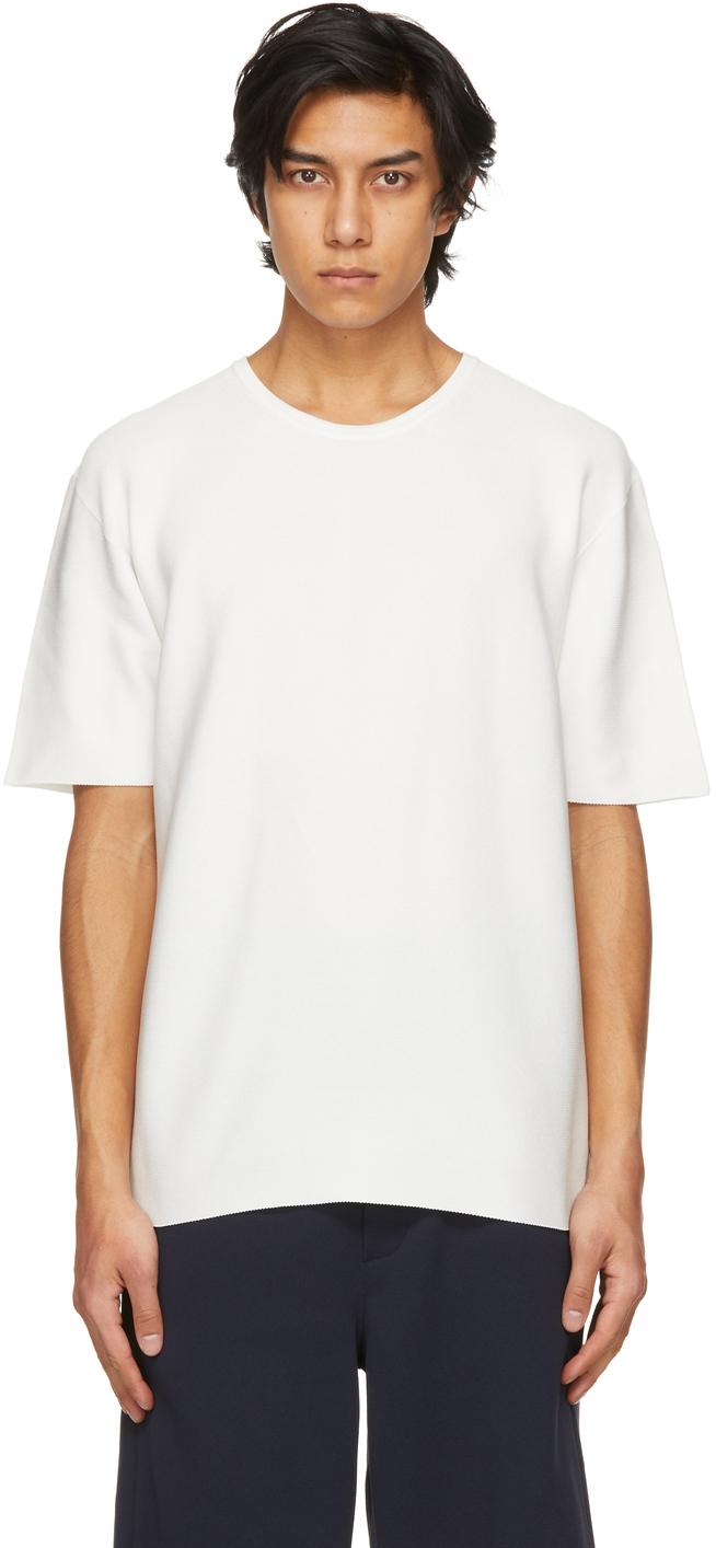 White Garter Half Sleeve T-Shirt