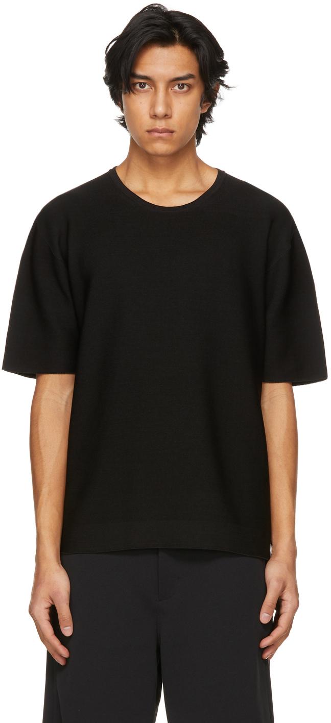 Black Garter Half Sleeve T-Shirt