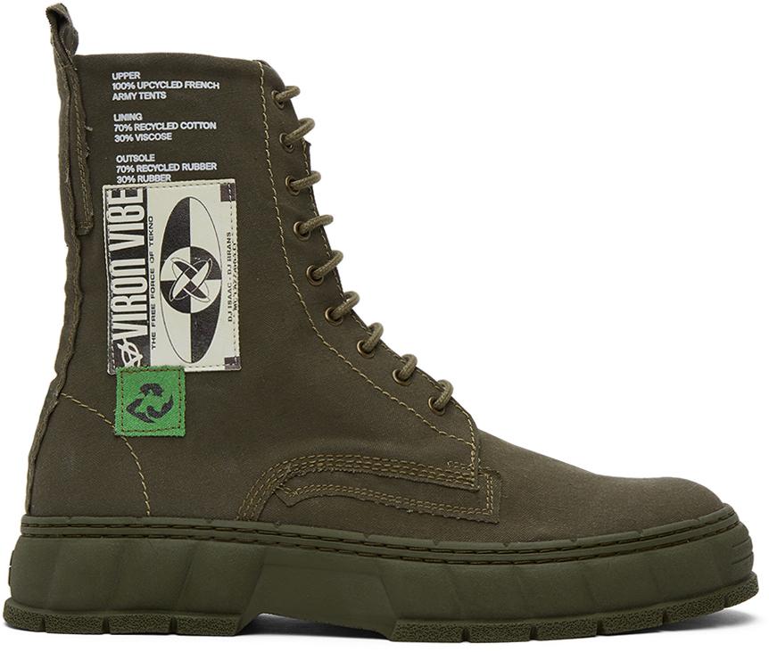 Virón 军绿色 1992 踝靴