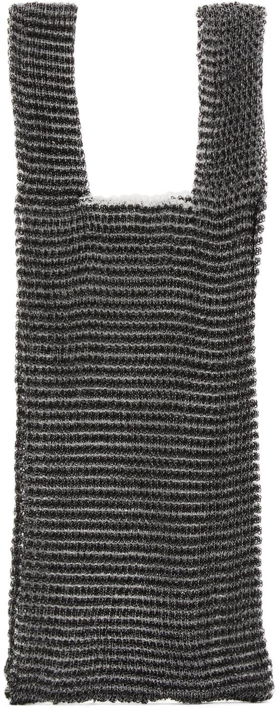 Black Medium Double Bag