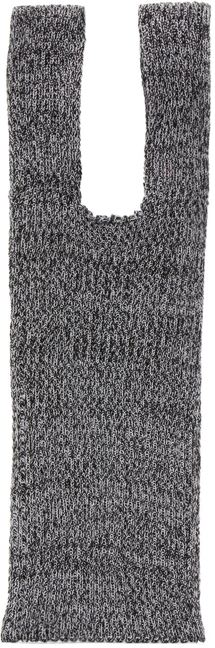Grey Rib Small Bag