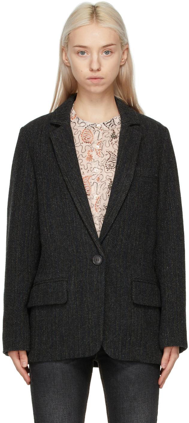 Isabel Marant Etoile Black Charly Blazer