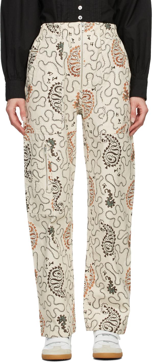 Isabel Marant Etoile Off-White Noferis Jeans