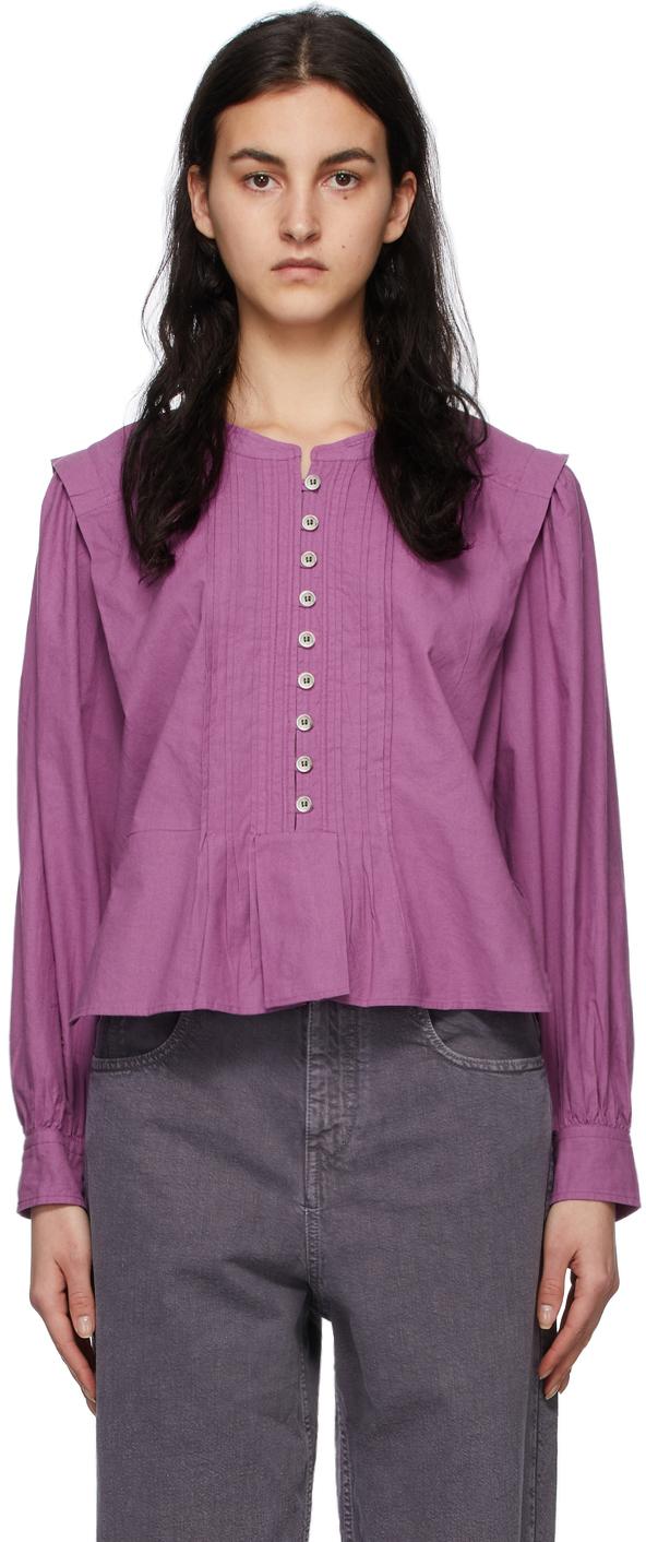 Isabel Marant Etoile 紫色 Okina 上装