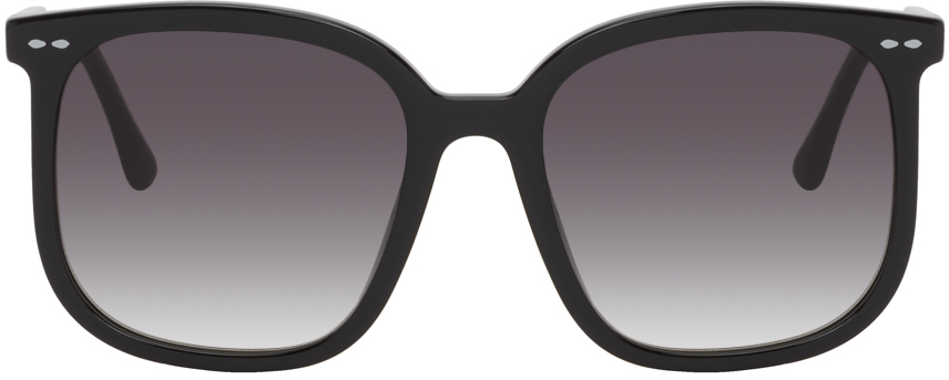 Isabel Marant Black Square Sunglasses