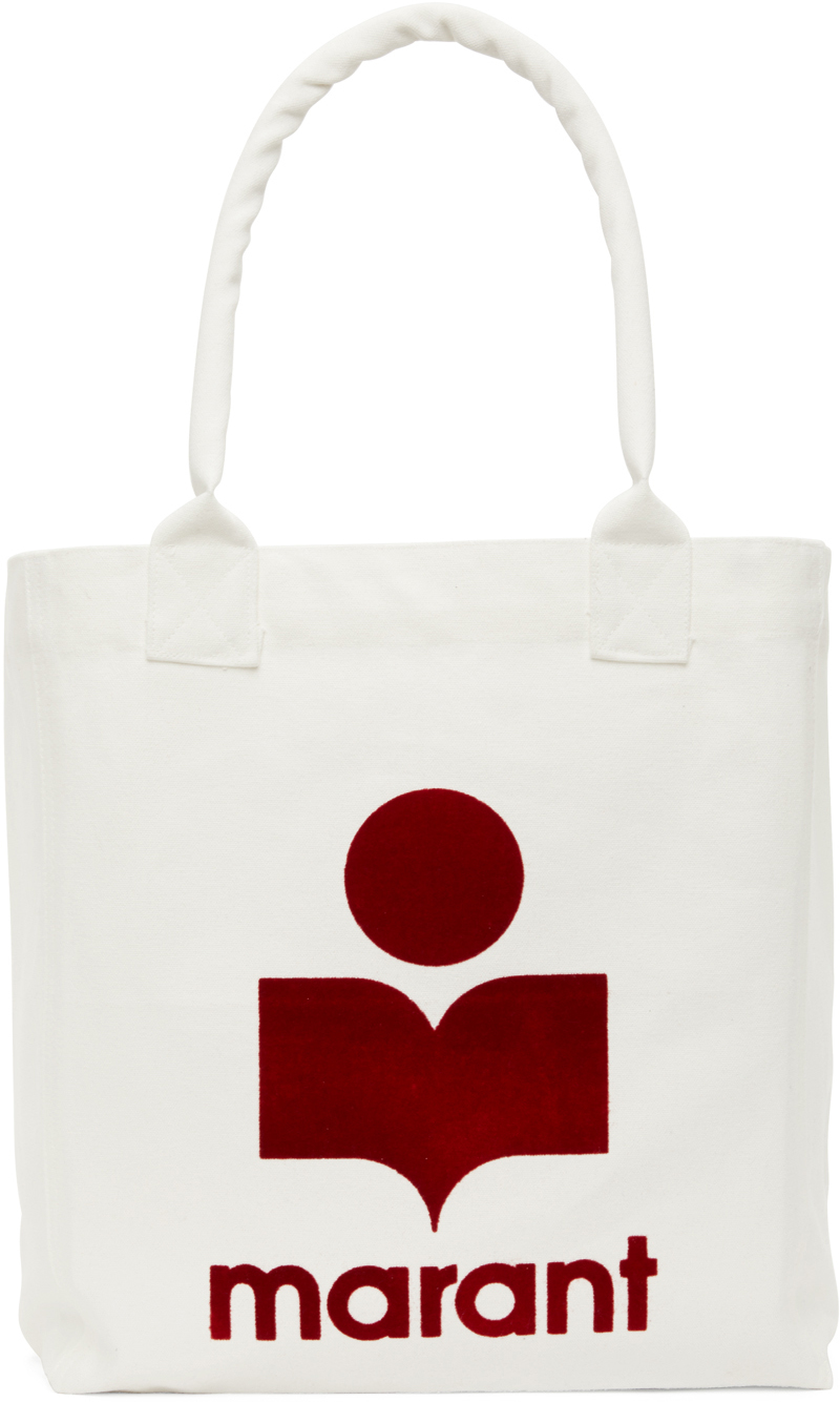 White & Red Yenky Tote Bag