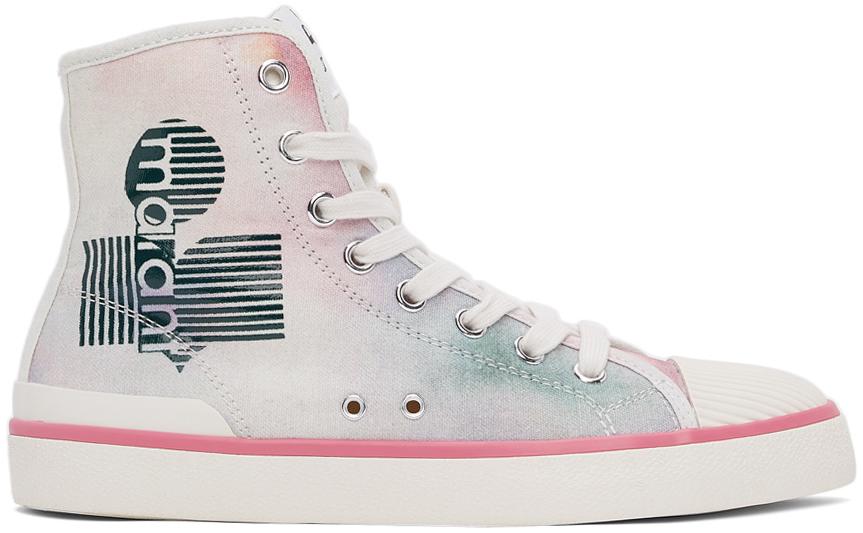 Multicolor Tie-Dye Bankeen High Sneakers