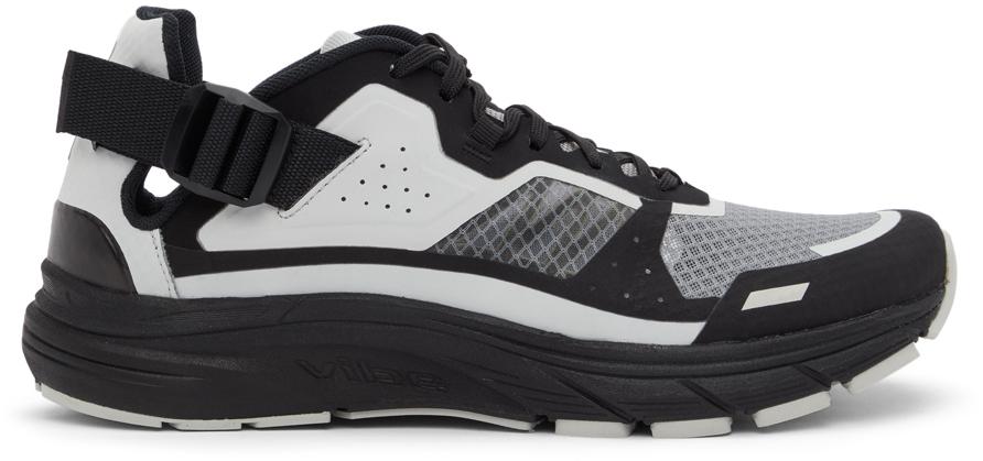 11 by Boris Bidjan Saberi Black Grey Salomon Edition Bamba 6 Sneakers 211610M237010