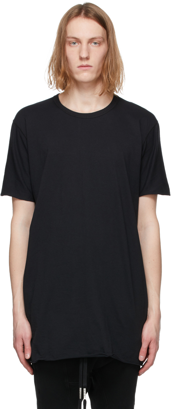 Black Object-Dyed T-Shirt