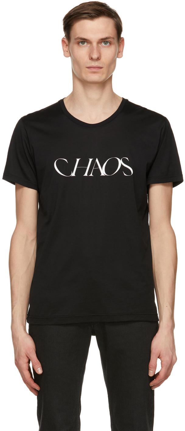 Black 'Chaos' T-Shirt