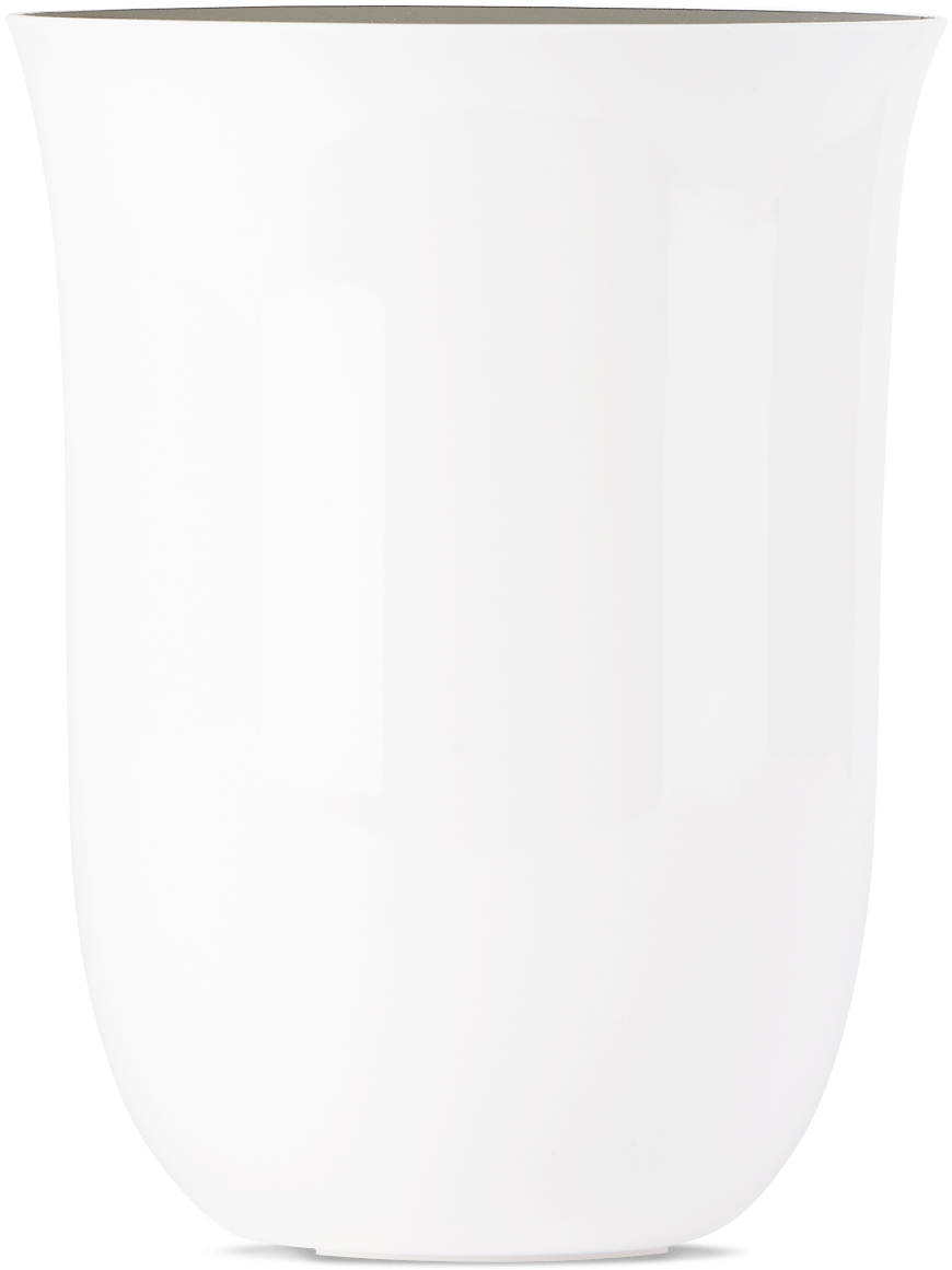 White Oblio Wireless Phone Charger