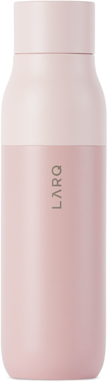 Pink Insulated Self-Cleaning Bottle