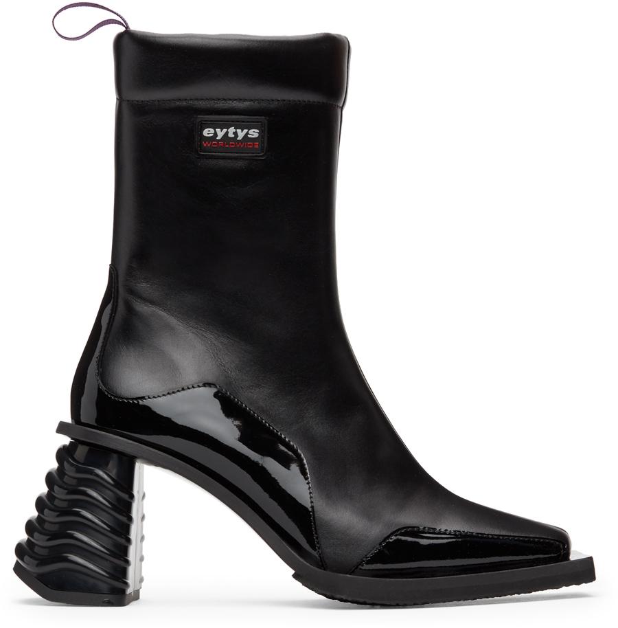 Eytys 黑色 Gaia 皮革踝靴