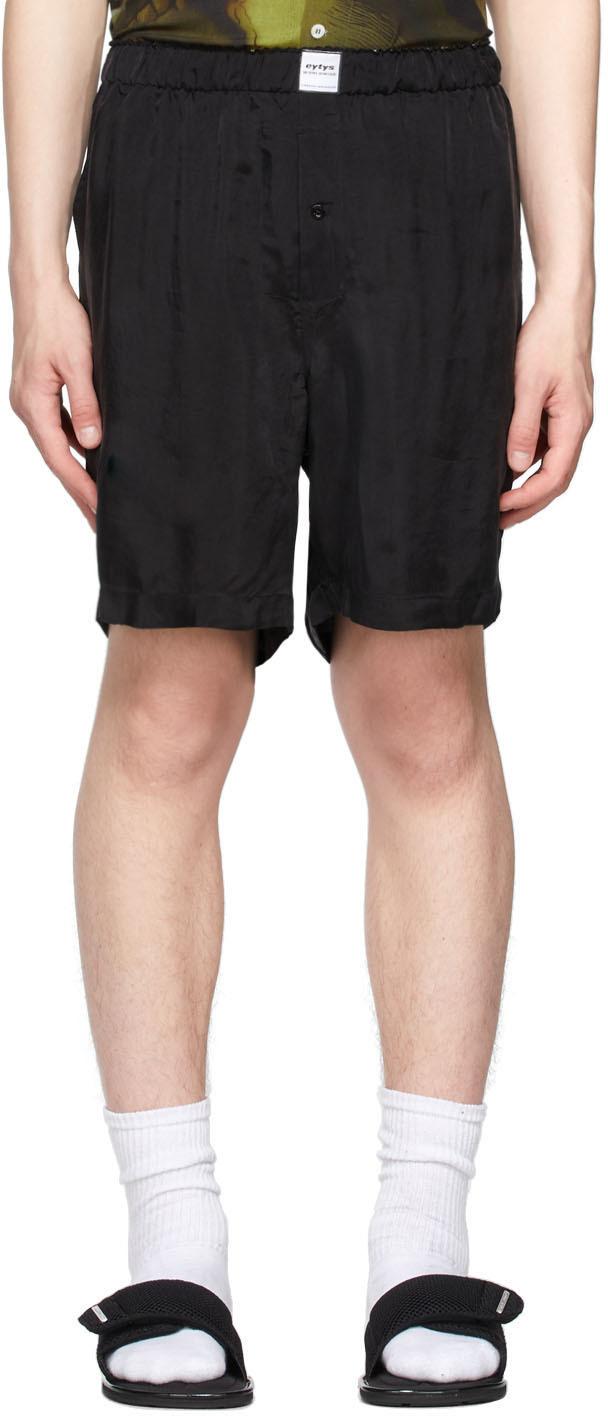 Black Aniara Shorts