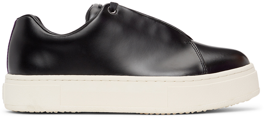 Black Doja Platform Sneakers