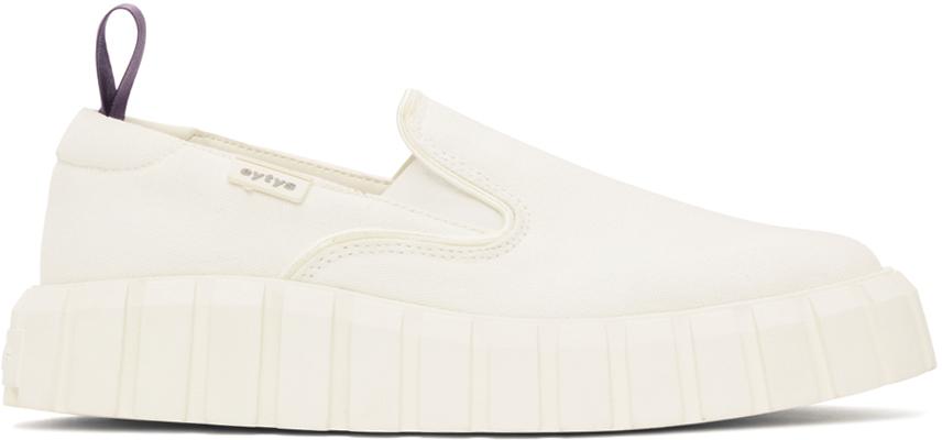 White Odessa Slip-On Sneakers