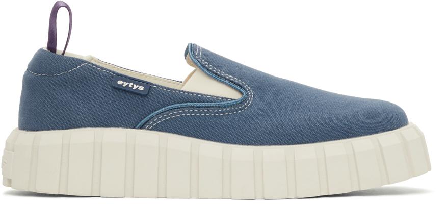 Navy Odessa Slip-On Sneakers