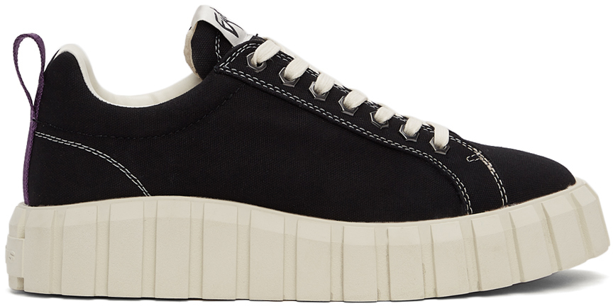 Black Canvas Odessa Sneakers