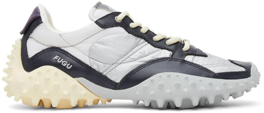Grey Fugu Sneakers