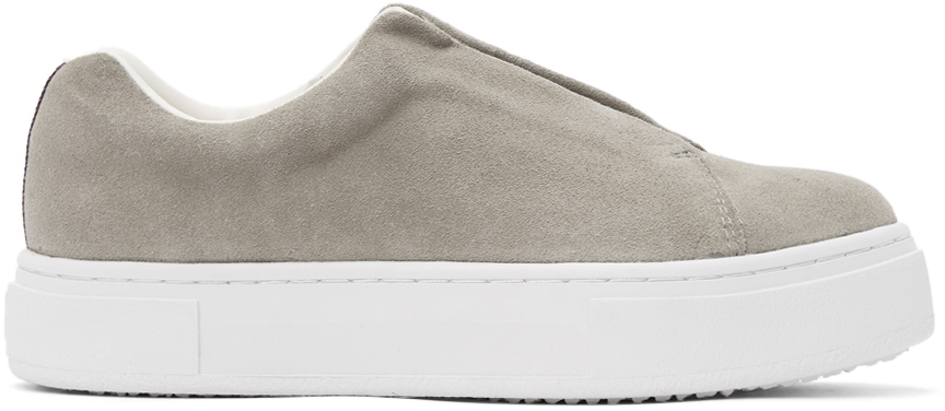 Grey Suede Doja S-O Sneakers