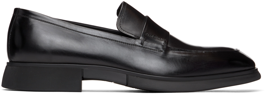 Black Marston Penny Loafers
