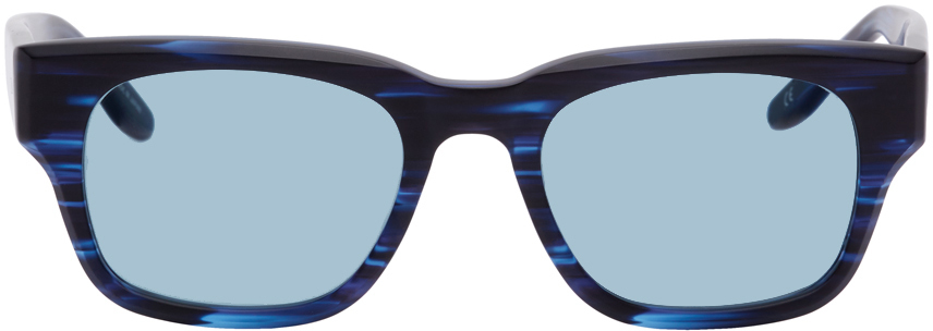 Western Hydrodynamic Research 黑色 & 蓝色 Barton Perreira 联名 Domino 太阳镜