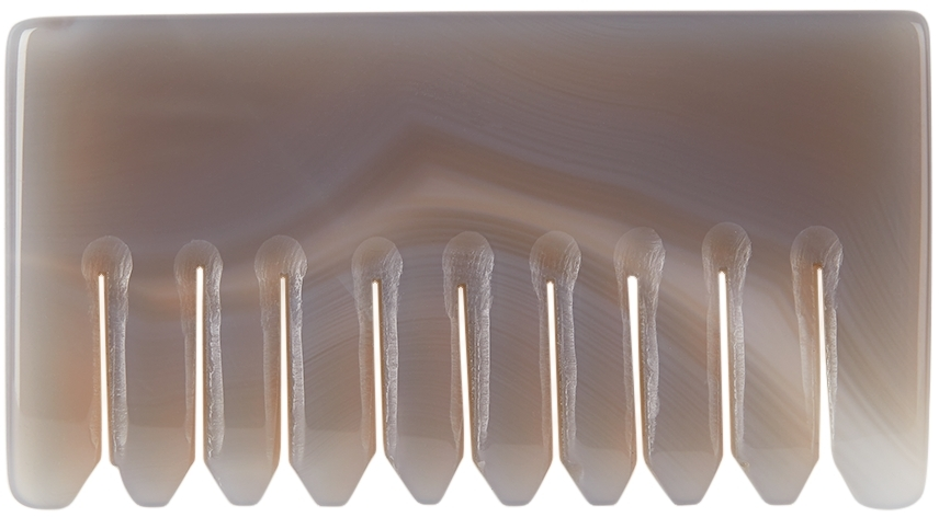 Taupe Agate Comb