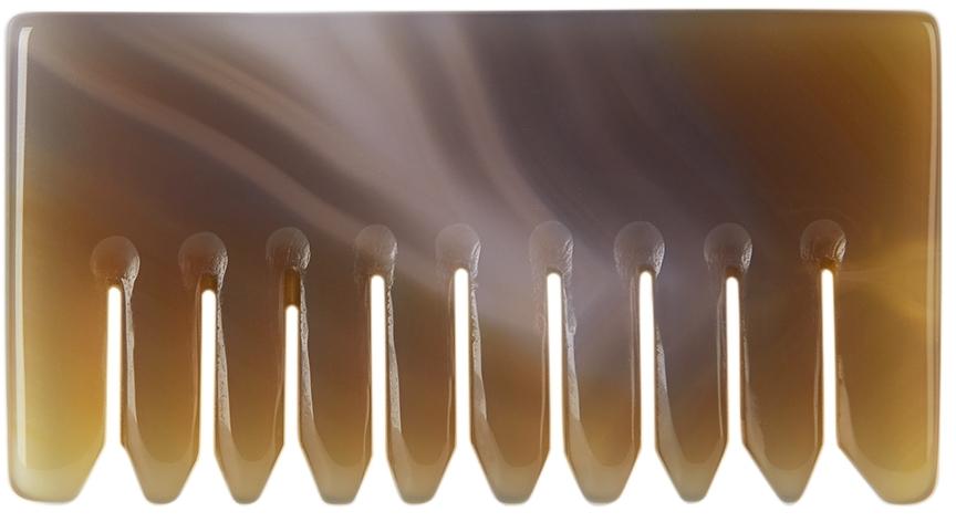 Beige Agate Comb