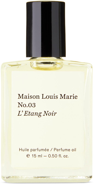 No. 03 L'Etang Noir Perfume Oil