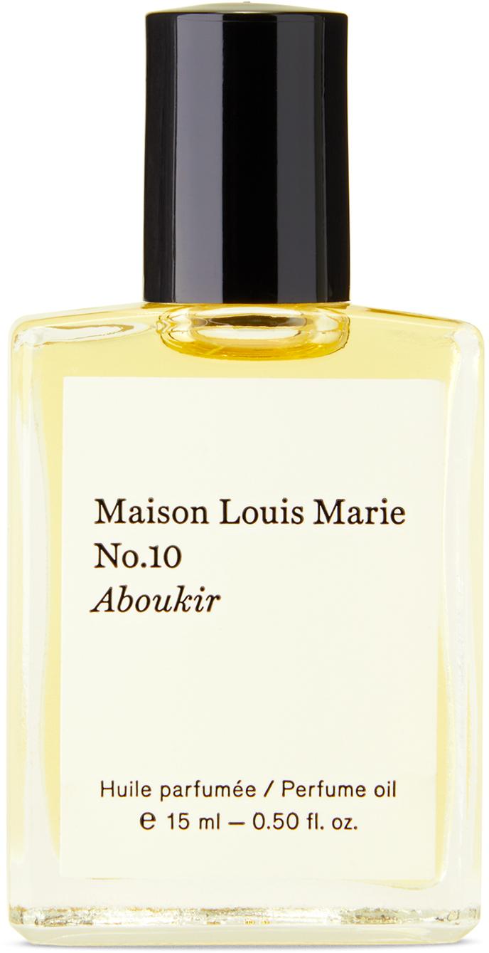 No. 10 Aboukir Perfume Oil