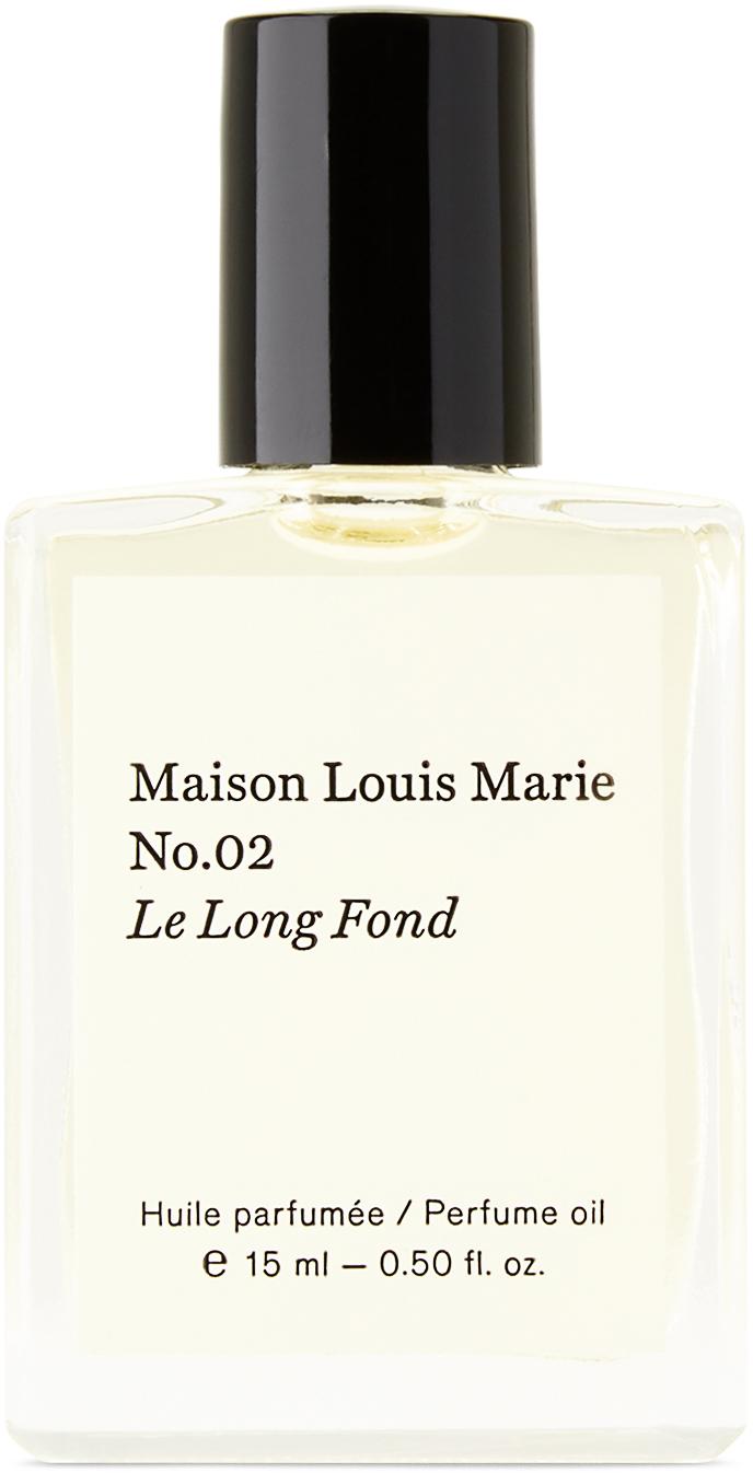 No.02 'Le Long Fond' Perfume Oil