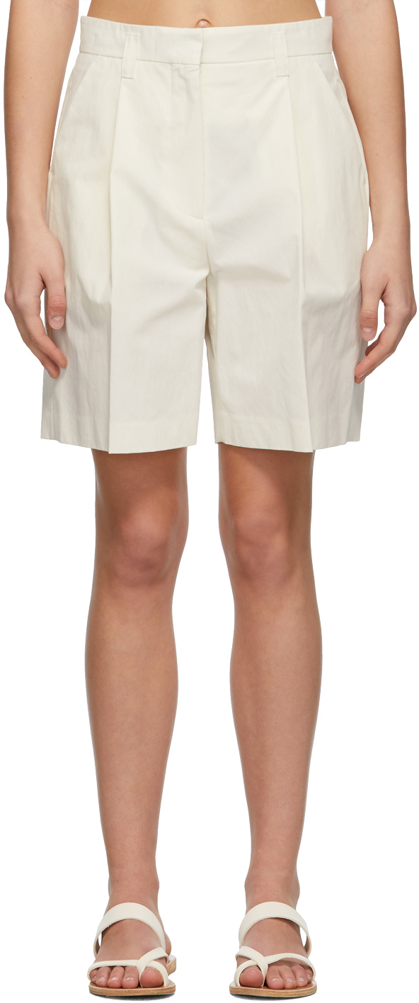 LOW CLASSIC 灰白色 Half Pant 短裤