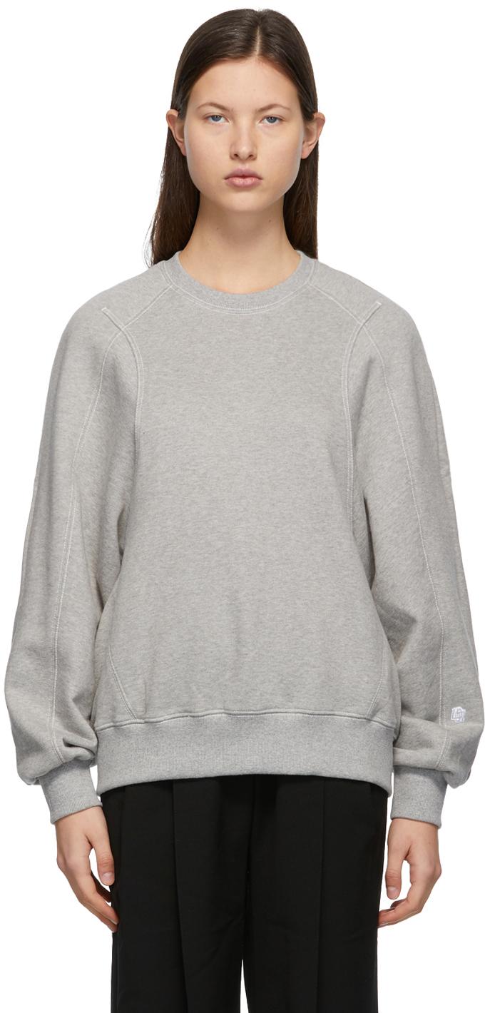 LOW CLASSIC 灰色 Classic Stitch 套头衫