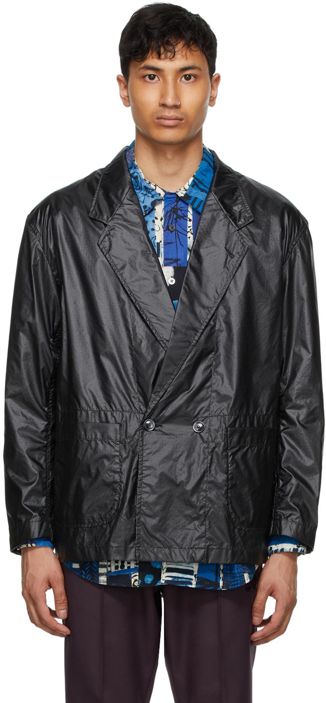 AïE Black Ripstop EZ Jacket 211668M180023