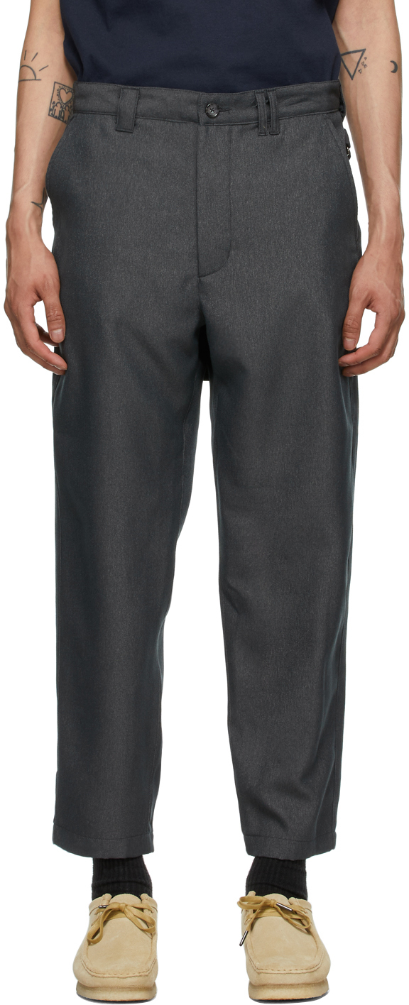 AïE Grey Twill BNG Trousers 211668M191009