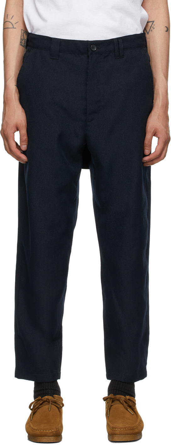 AïE Navy Twill BNG Trousers 211668M191010