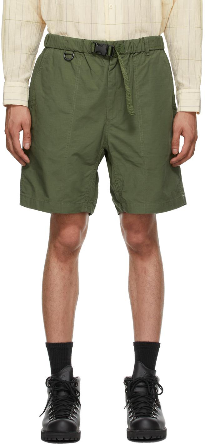 AïE Green Ripstop EZ Shorts 211668M193006