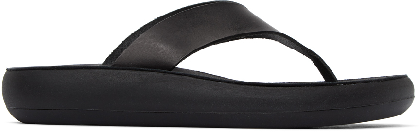 Black Comfort Sole Charys Sandals