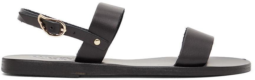 Black Clio Sandals