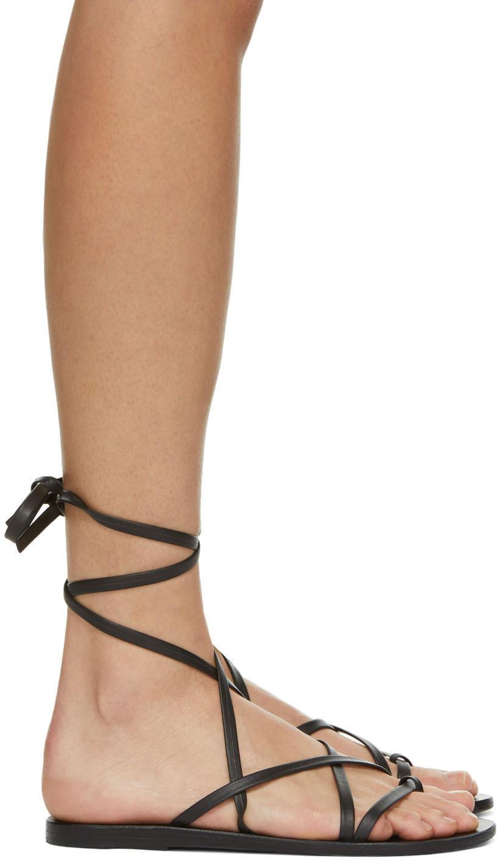Black Morfi Sandals