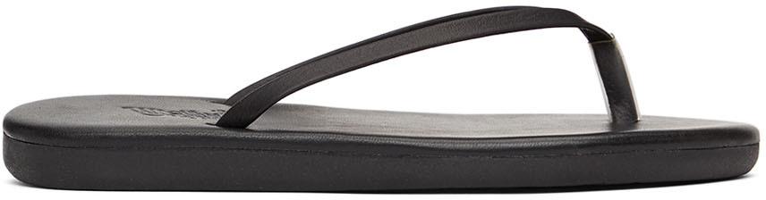 Black Saionara Sandals