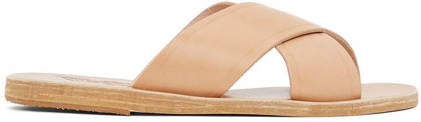 Tan Thais Sandals
