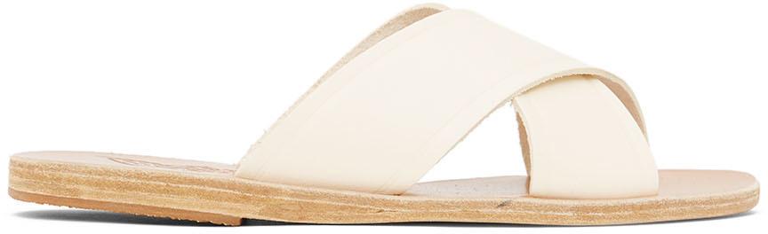 Ancient Greek Sandals Off-White Thais Sandals
