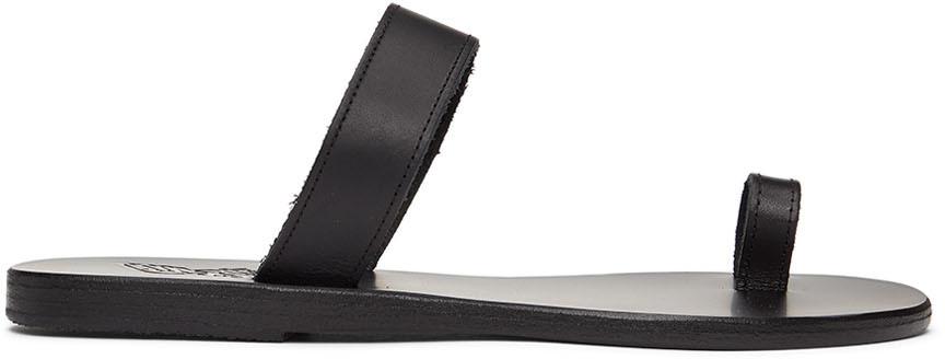 Black Thalia Sandals