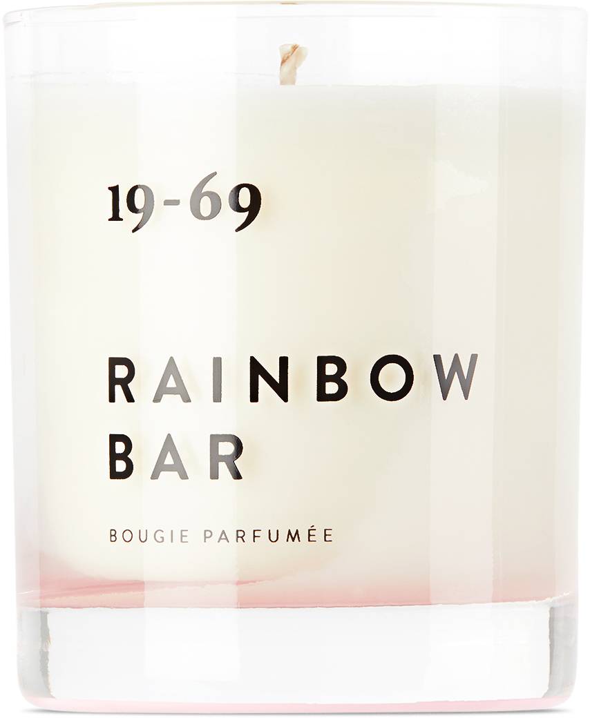 19 69 Rainbow Bar Candle 67 oz 211674M489006
