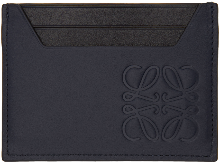 Navy Classic Plain Cardholder