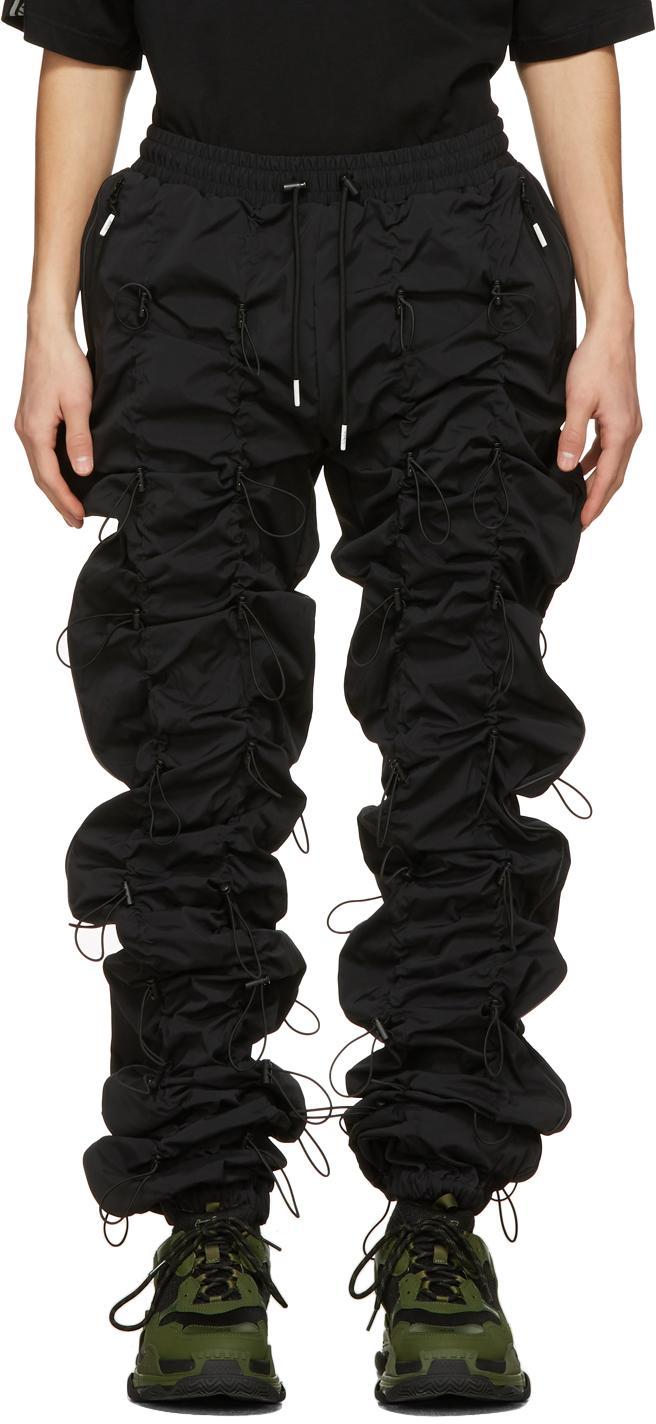 99% IS 黑色 Gobchang 运动裤