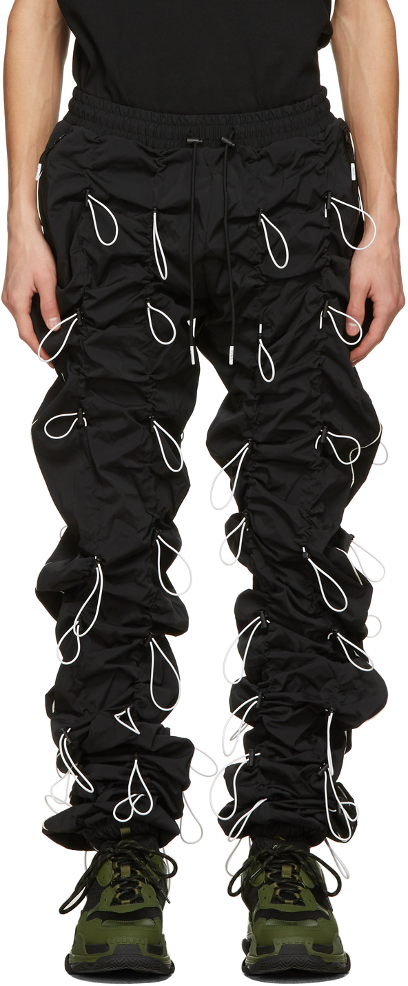 99 IS Black White Gobchang Lounge Pants 211689M190034
